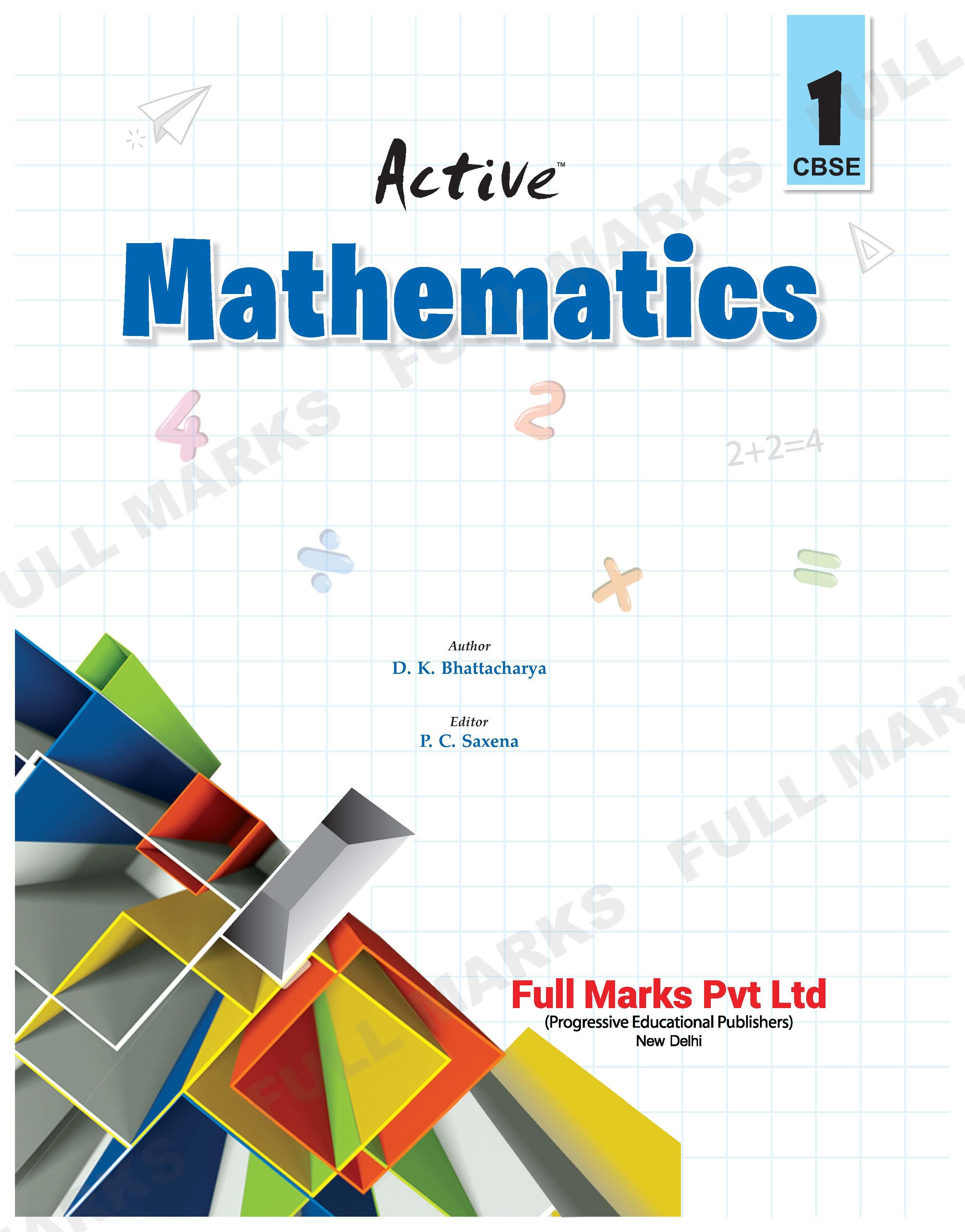 Active Mathematics Class 1