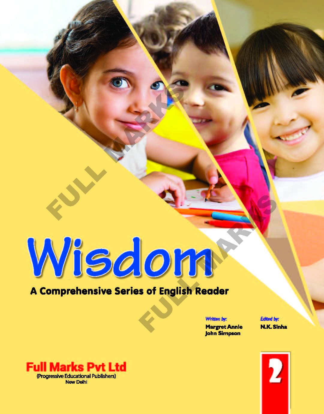 Wisdom English Reader Class 2