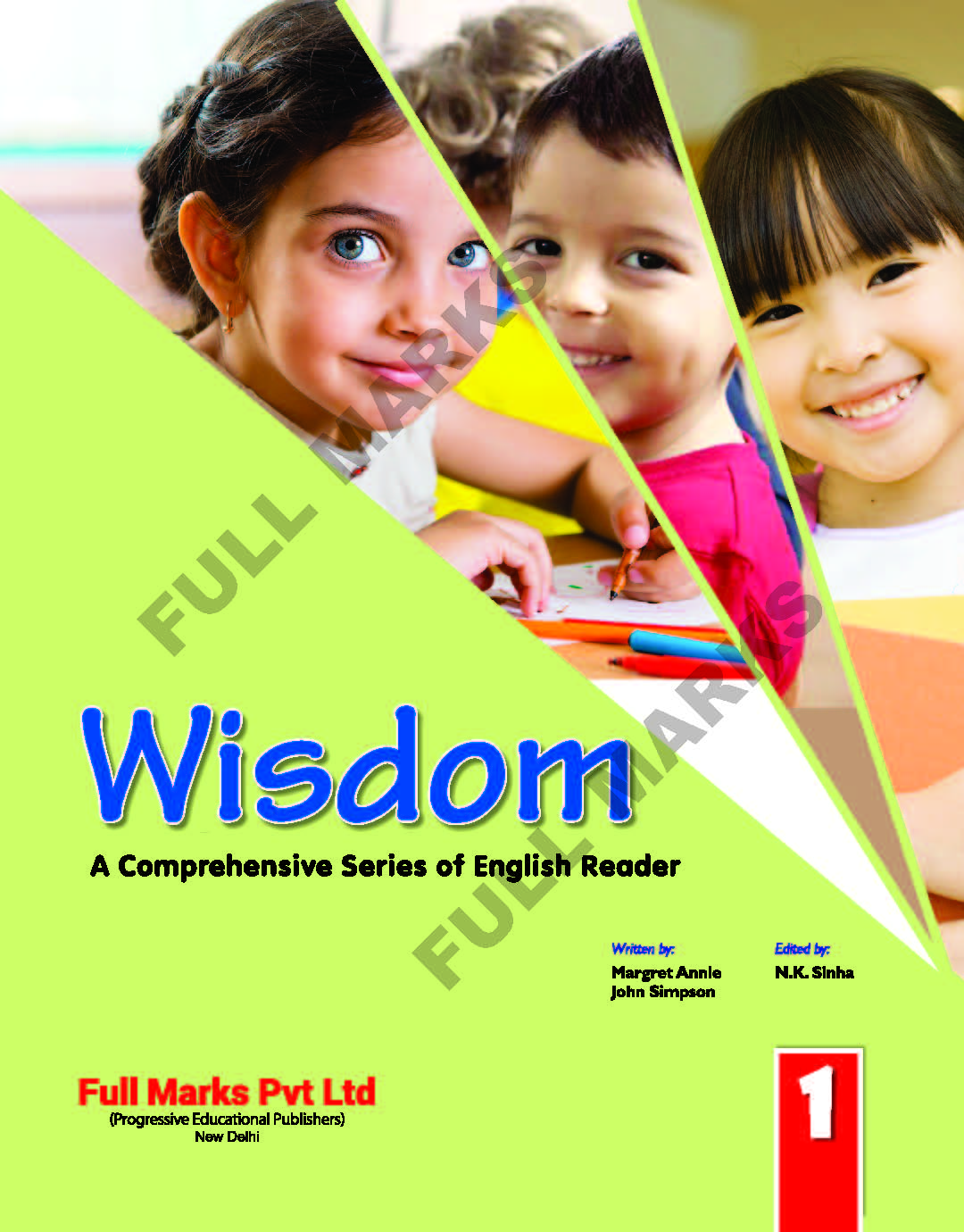 Wisdom English Reader Class 1