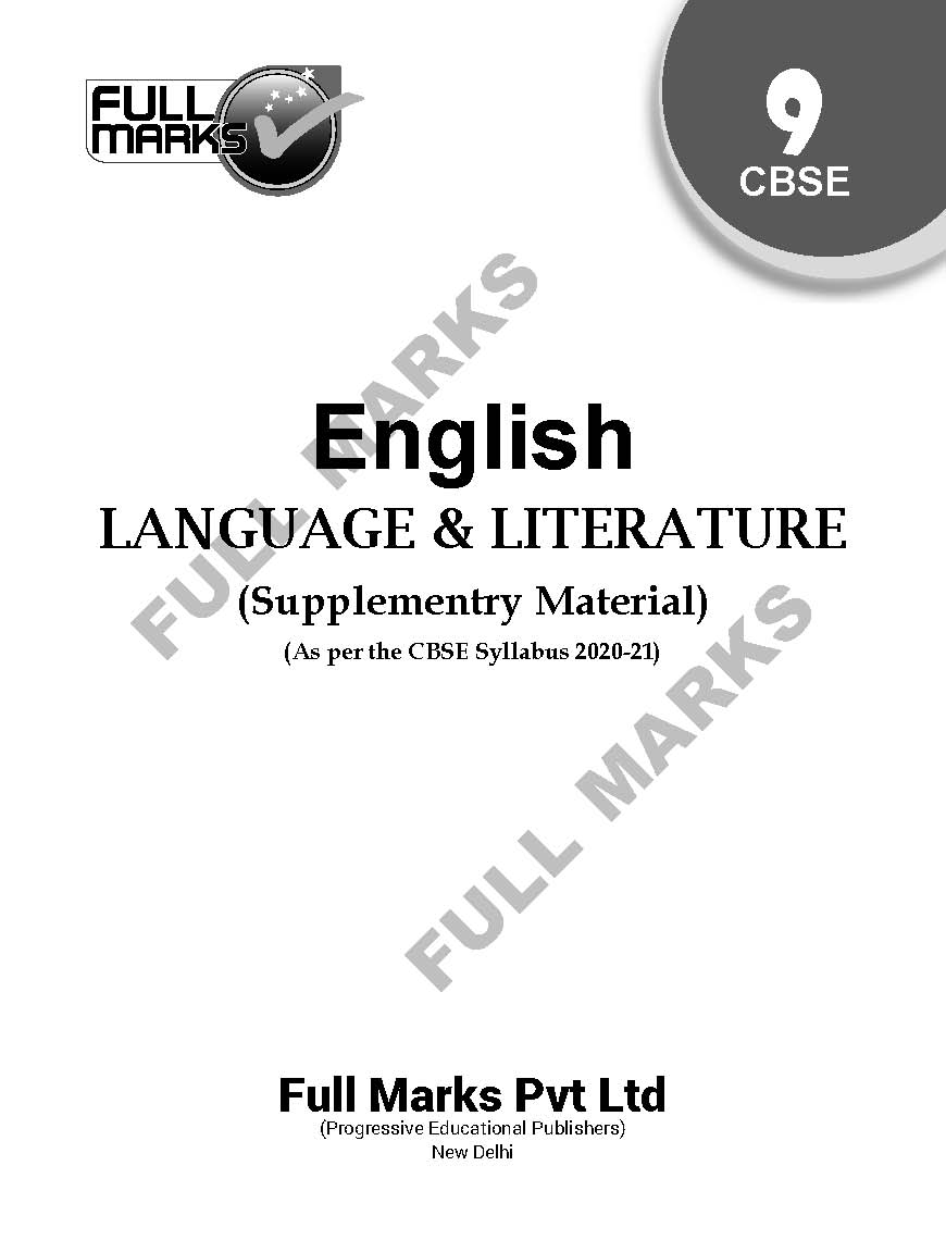 English Language & Literature (Supplementary Material) Class 9