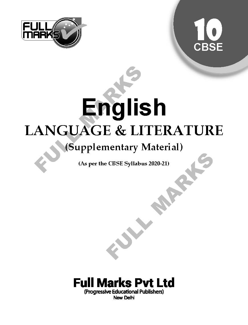 English Language & Literature (Supplementary Material) Class 10