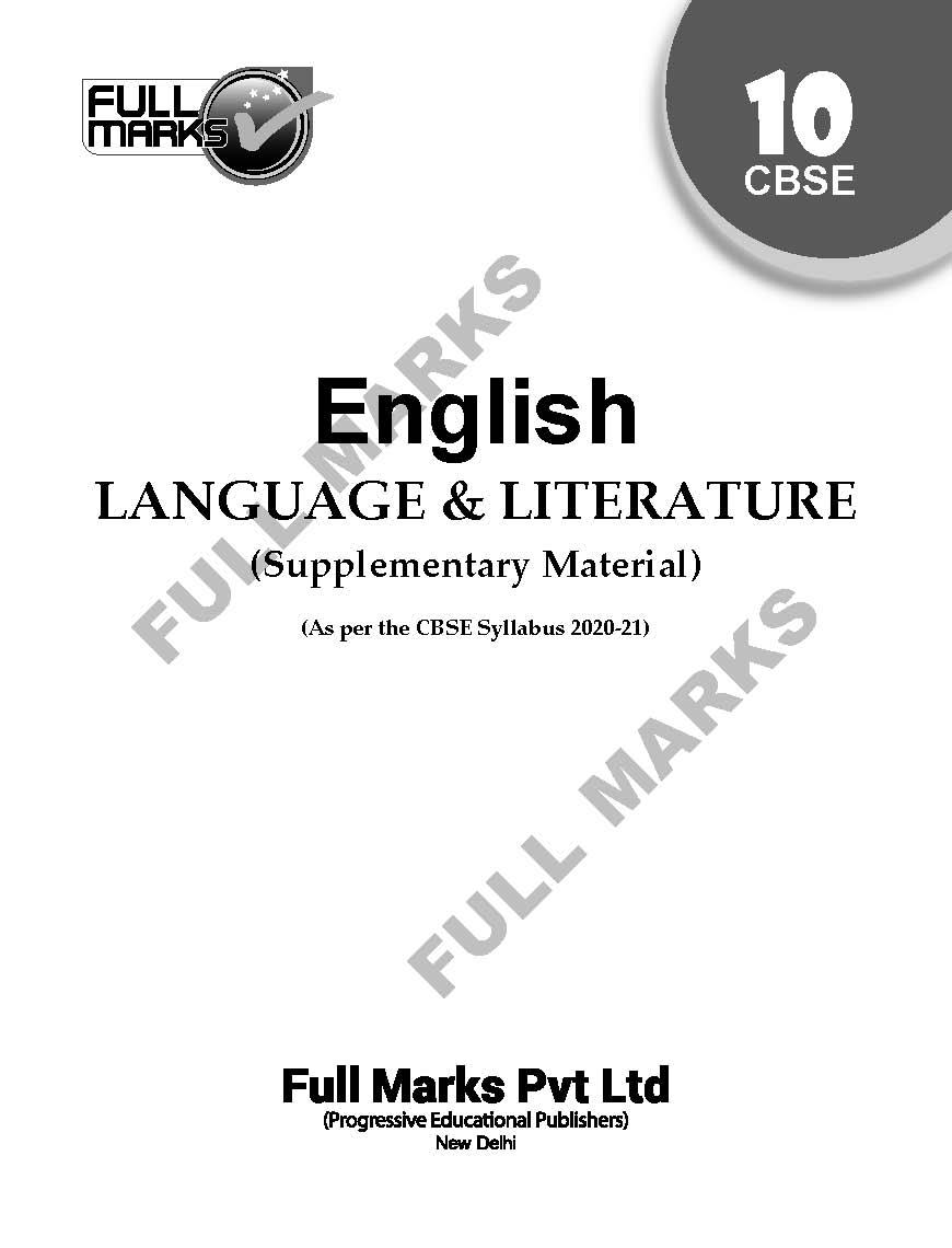 English Language & Literature (Supplementary Material) Class 10