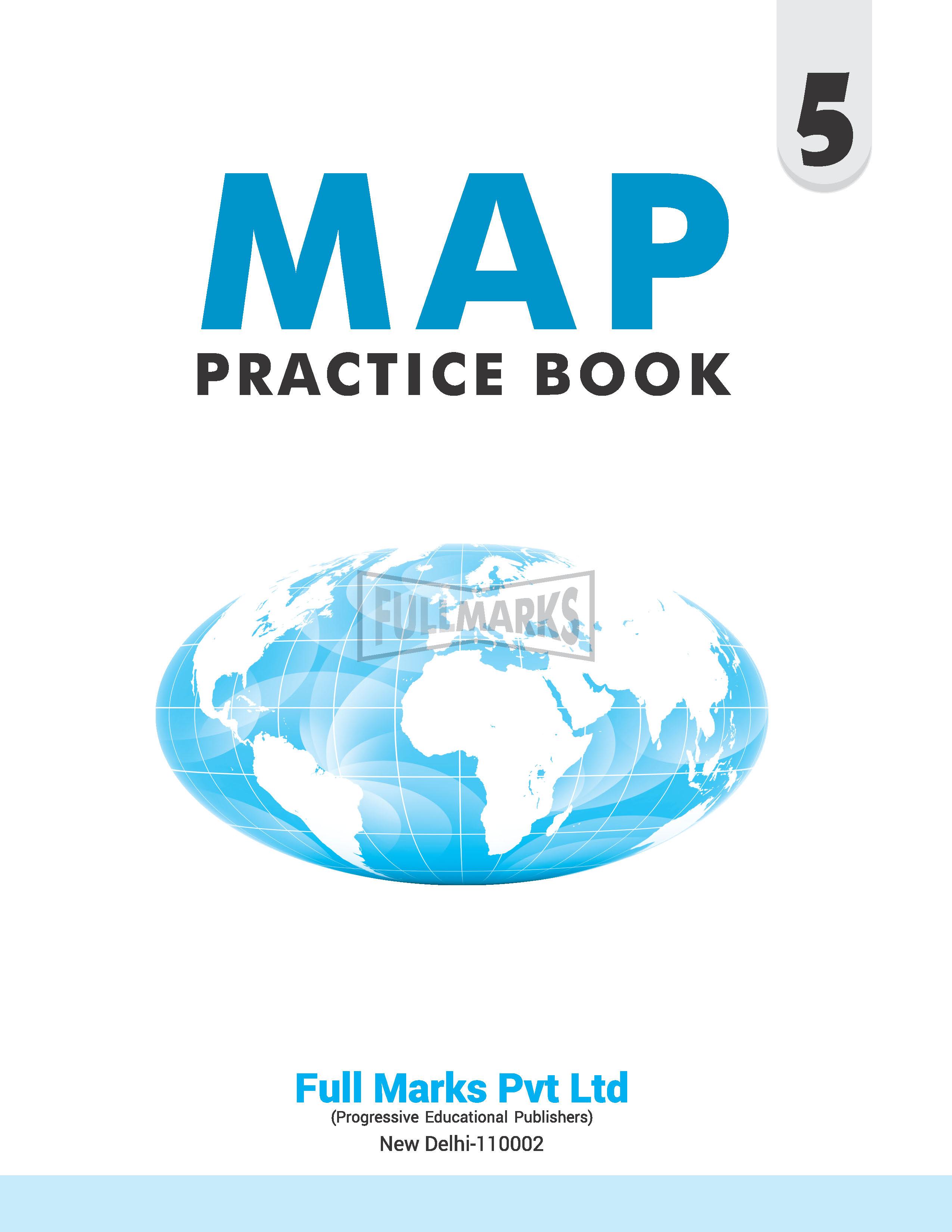 Map Practice Book Class 5