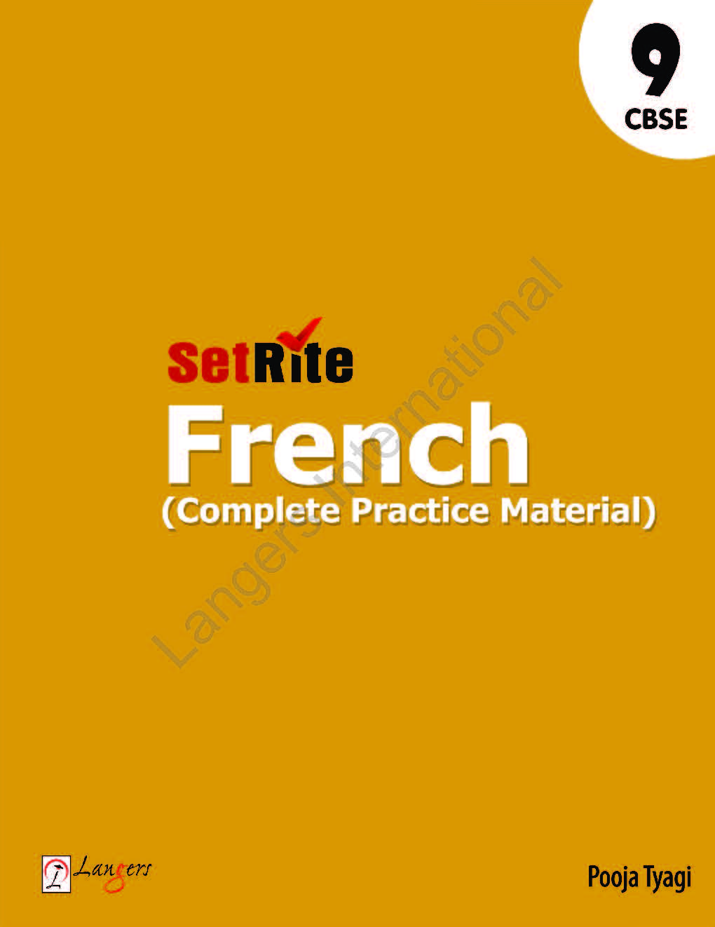 SetRite French ( Complete Practice Material ) Class 9