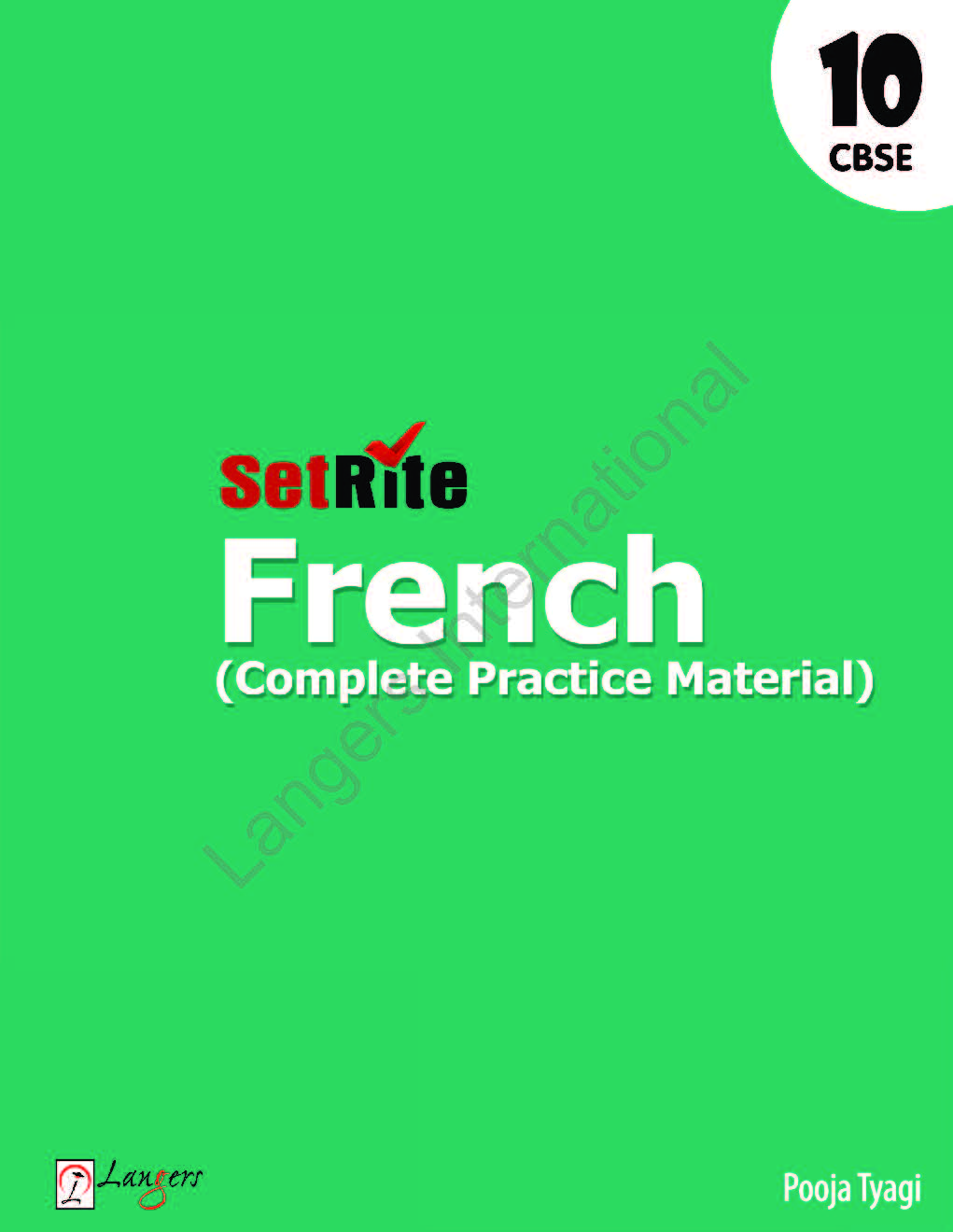 SetRite French ( Complete Practice Material ) Class 10