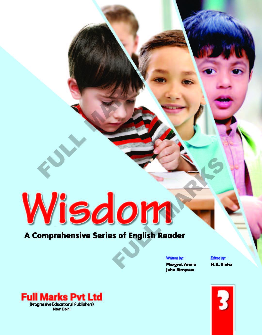 Wisdom English Reader Class 3