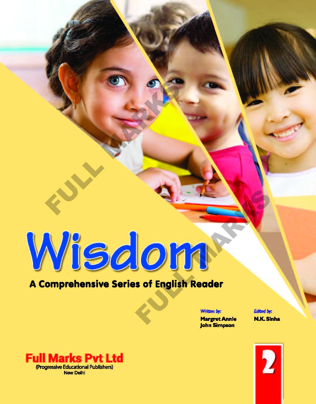 Wisdom English Reader Class 2