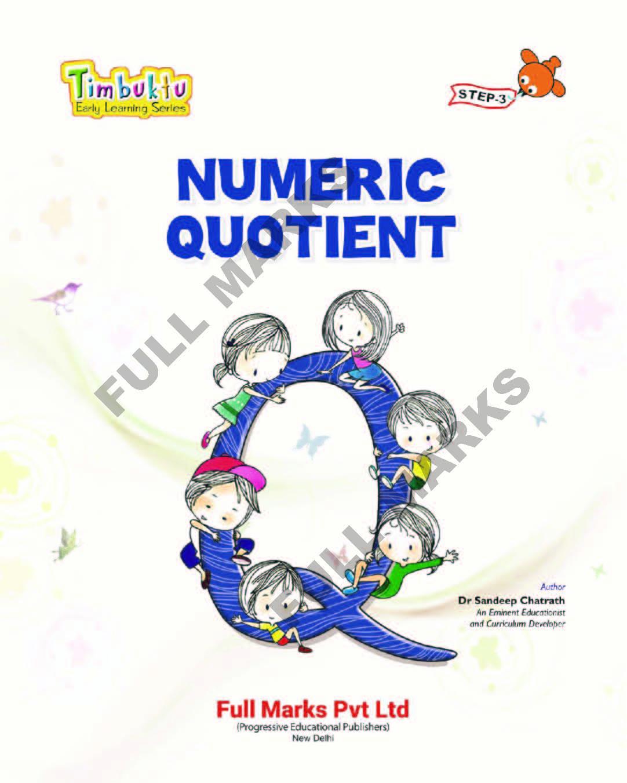 Numeric Quotient Step 3