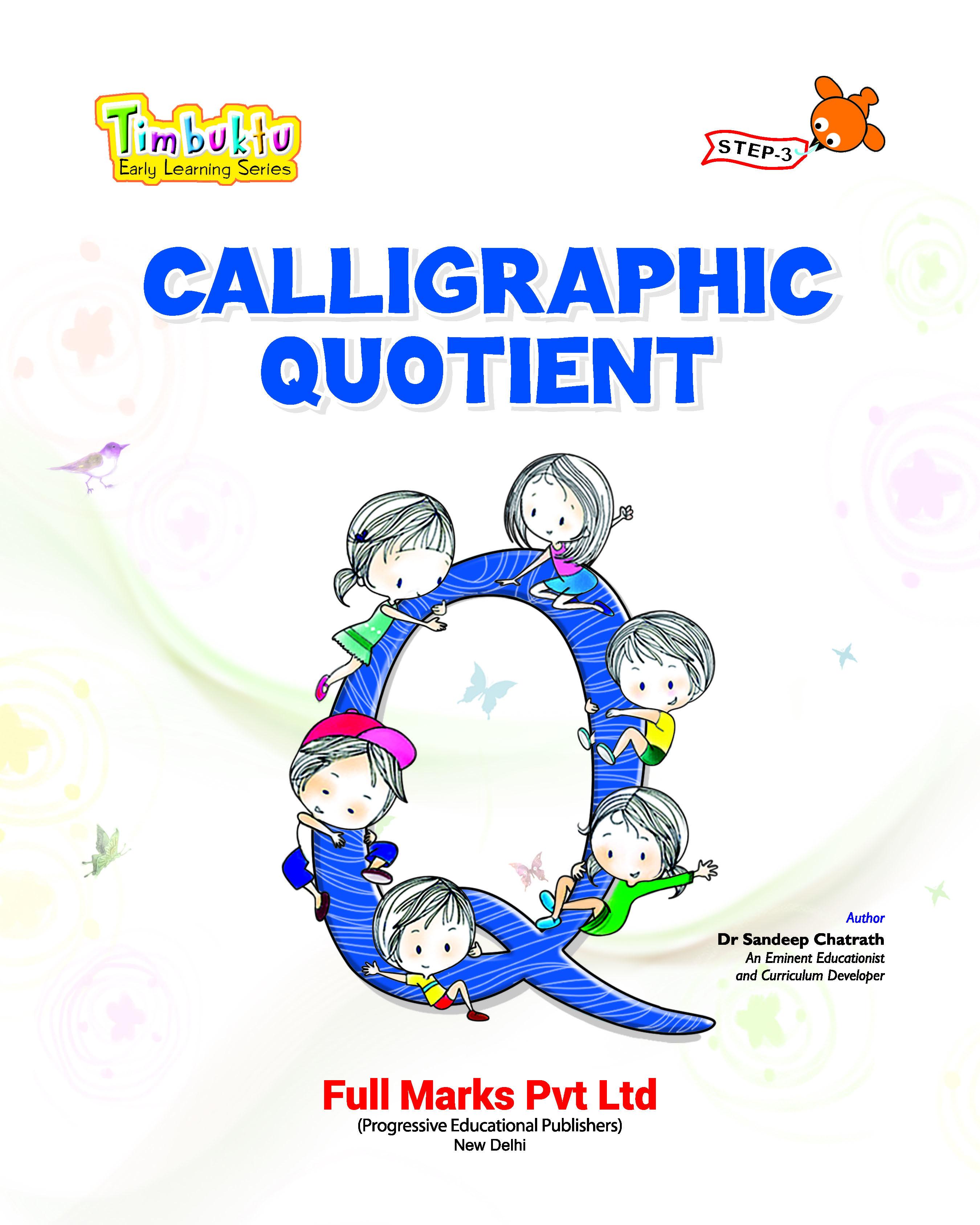 Calligraphic Quotient Step 3
